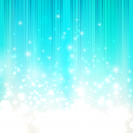 shiny: abstract blue background with sparkles