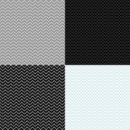 vintage geometric backgrounds  seamless patterns