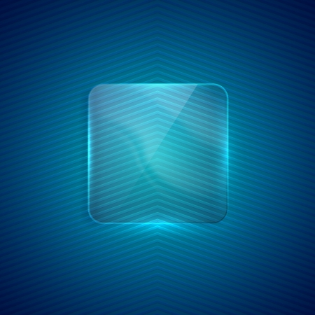 abstract background with transparent glass banner Stock Vector - 21432125
