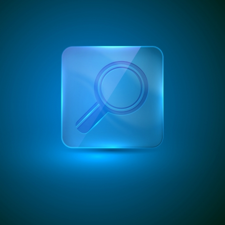nacre: search icon  glass icon with magnifier