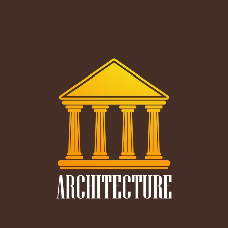 pillar: illustration with a building icon