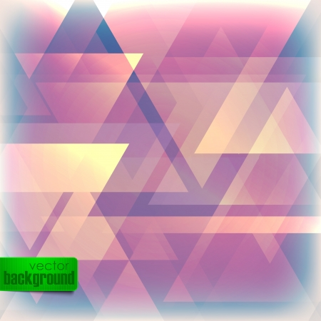 abstract faded background with triangles Illustration