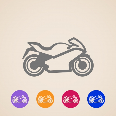 motorsport: Motorcycle icons