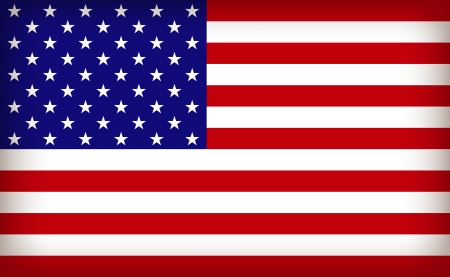 the USA flag Stock Vector - 23337237