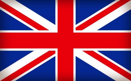 イギリスのユニオン ジャックの旗  イラスト・ベクター素材