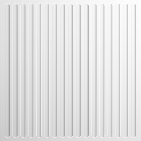plastic texture: white paper 3d with striped texture illustration
