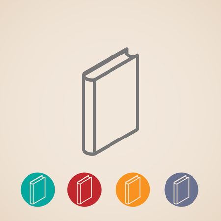 electronic publishing: isometric vector book icons