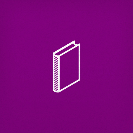 electronic publishing: isometric vector book icon Illustration