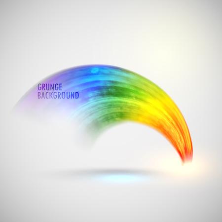 abstracte regenboog aquarel achtergrond. geborsteld inkt textuur. Abstracte zonnige banner voor uw ontwerp