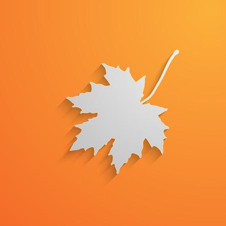 illustration of a maple leaf