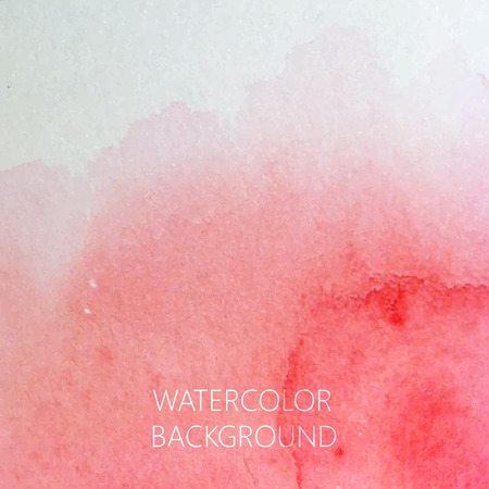 vector abstract watercolor background for your design Vector