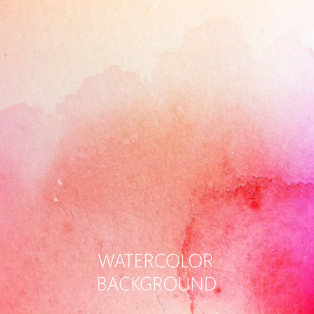 vector abstract watercolor background for your design Ilustracja