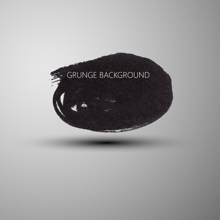 ink stain: Grunge marker stain banner. brushed ink texture. Abstract background for your design