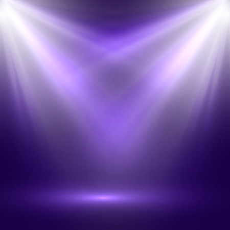 stage decoration abstract: vector abstract illustration of bright stage light rays