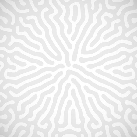 bacteriology: abstract background with random bio lines. labyrinth cancept Illustration