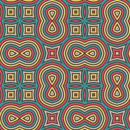 motif floral: Motif ethnique Seamless Floral. Ornement Vecteur Vintage. Celtique, arabe ou motifs indiens Contexte. Seamless Wallpaper Pour Tissu Or Papier d'emballage design. Illustration
