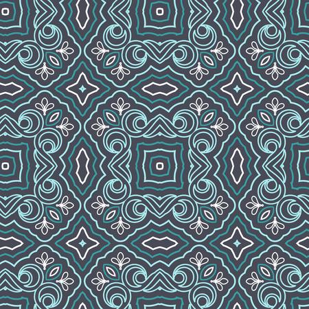 keltische muster: Seamless Floral Ethnic-Muster. Jahrgang Vektor Ornament. Celtic, arabische oder indische Motive Hintergrund. Nahtlose Tapete für Gewebe oder Packpapier-Entwurf.