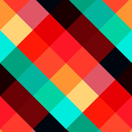 Motivo geometrico senza soluzione di continuità. Ornamento vettoriale poligonale. Sfondo poligonale. Carta da parati senza cuciture per tessuto o carta da imballaggio Design. Vettoriali