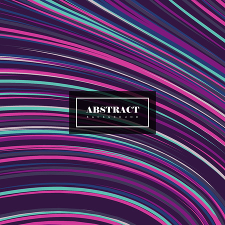 Abstract artistic stripes background. Vector vintage illustration of abstract stripes background. Abstract psychedelic background