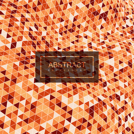 applicable: Abstract polygonal distorted background with colorful triangulation. Vector geometric illustration. Applicable for cover, placard, brochure, flyer, banner design Illustration