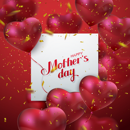 Happy Mütter-Tag. Standard-Bild - 74610912