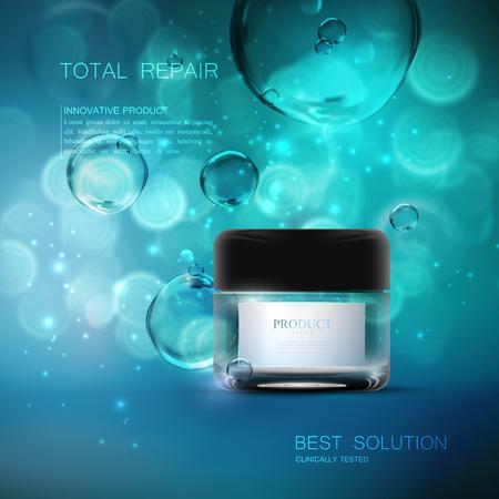 Beauty anti aging cream ads.