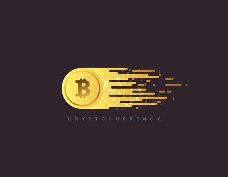 Cryptocurrency Konzept. Standard-Bild - 81168038