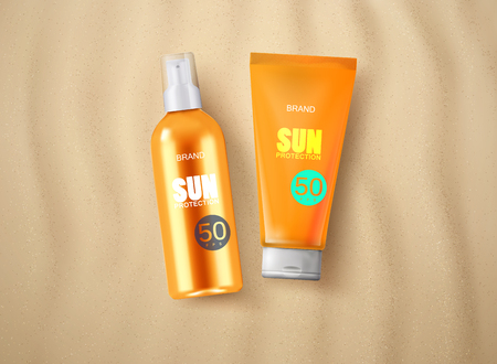 Sun protection cosmetics.