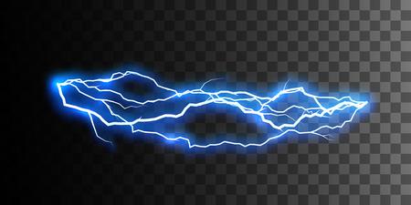 Thunderbolt of bliksem visueel effect voor het ontwerp