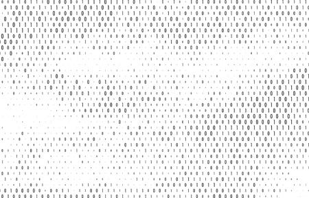 security symbol: Binary code vector background.