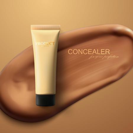 Concealer cream package