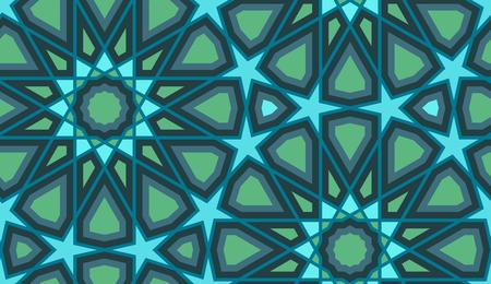 Seamless arabic pattern.
