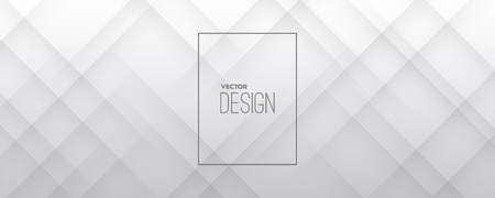 White 3d background design. Abstract textured minimal composition. Architectural cover template. Vector illustration