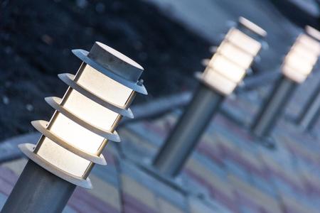 Decorative Solar Garden Light. Solar Powered Lamp