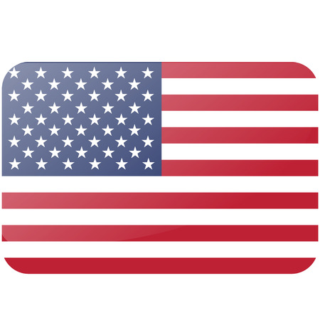 USA flag. official colors and proportion correctly. National United State of America flag.