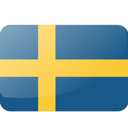 Sweden Flag 向量圖像