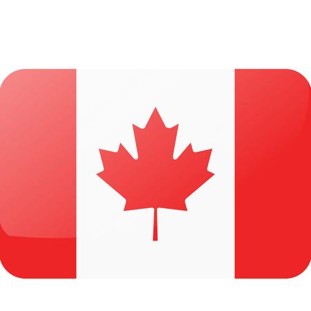 Flag Canada 向量圖像