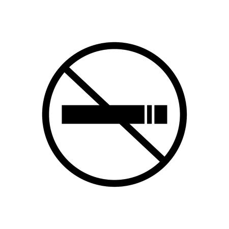 No smoking sign vector 向量圖像