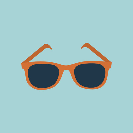 Vector Glasses Icon 向量圖像