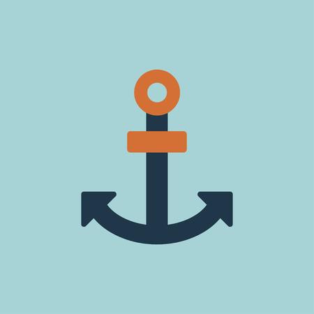 Anchor icon 向量圖像