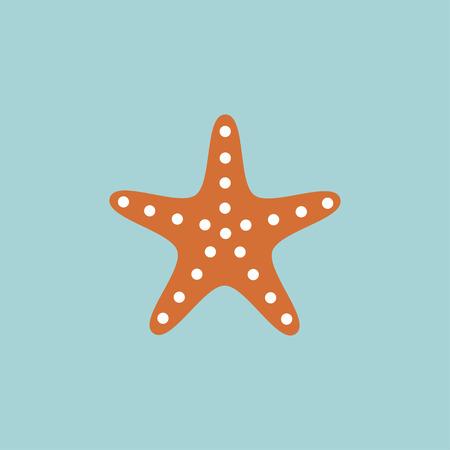 Starfish icon 向量圖像