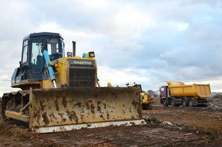 Minsk Belarus, 26, August, 2019, construction site