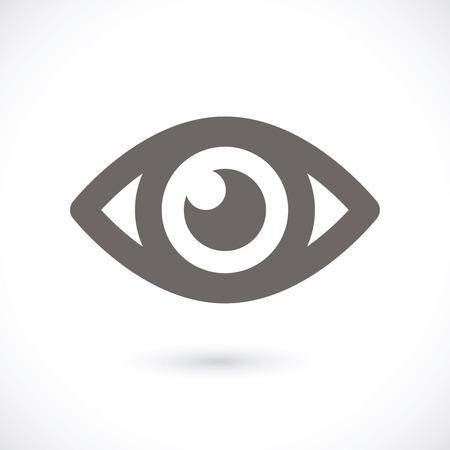 globo ocular: El icono de ojo