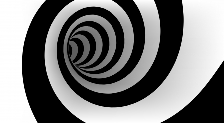 Abstract spiral with empty space Ilustração