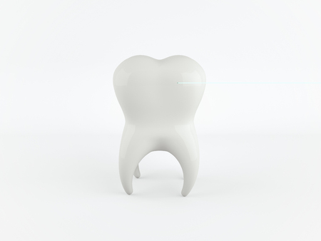 Tooth, dental, medicine and health concept design element.
