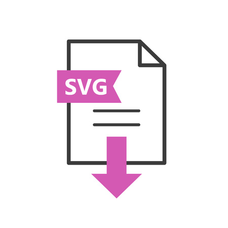 SVG vector icon. Download file. Simple sign for web or app.