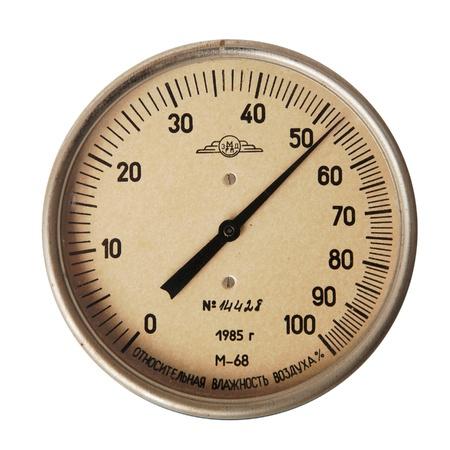 higr�metro flecha vendimia aislado sobre fondo blanco Foto de archivo