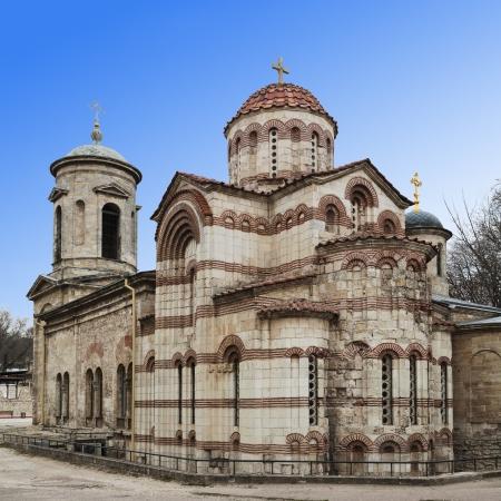 Iglesia de San Juan el Bautista en Kerch, Crimea, Ucrania Foto de archivo