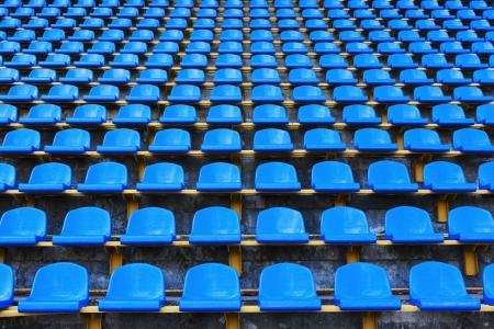 anfiteatro de asientos azules oscuro fondo abstracto