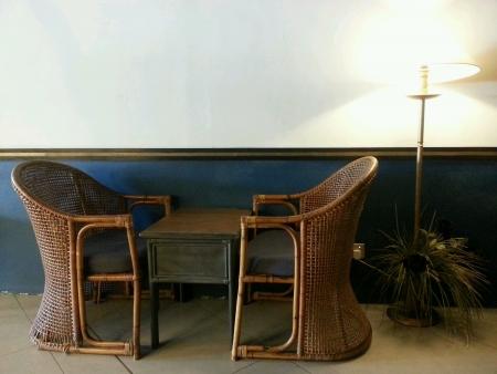 Vintage Interior Layout